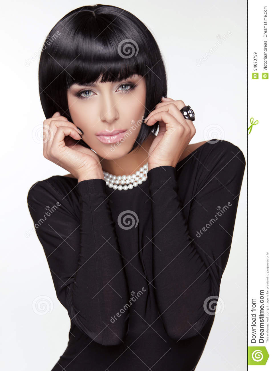 Vogue Style Fashion Beauty Woman Royalty Free Stock Images Image 34073739