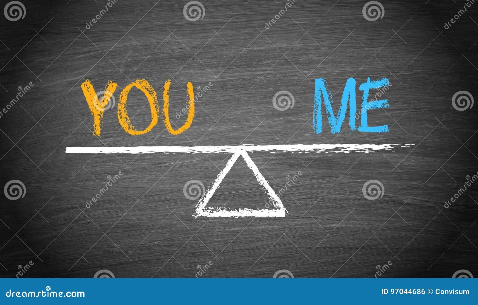 Voi e me - equilibrio di associazione