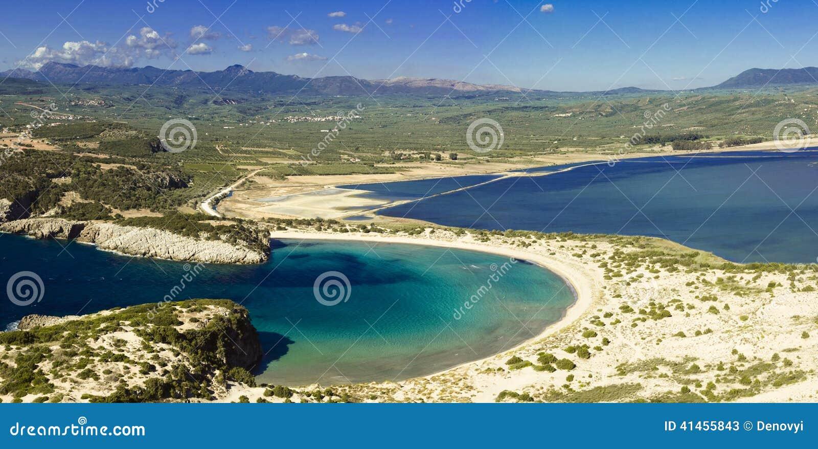 Voidokilia bay view