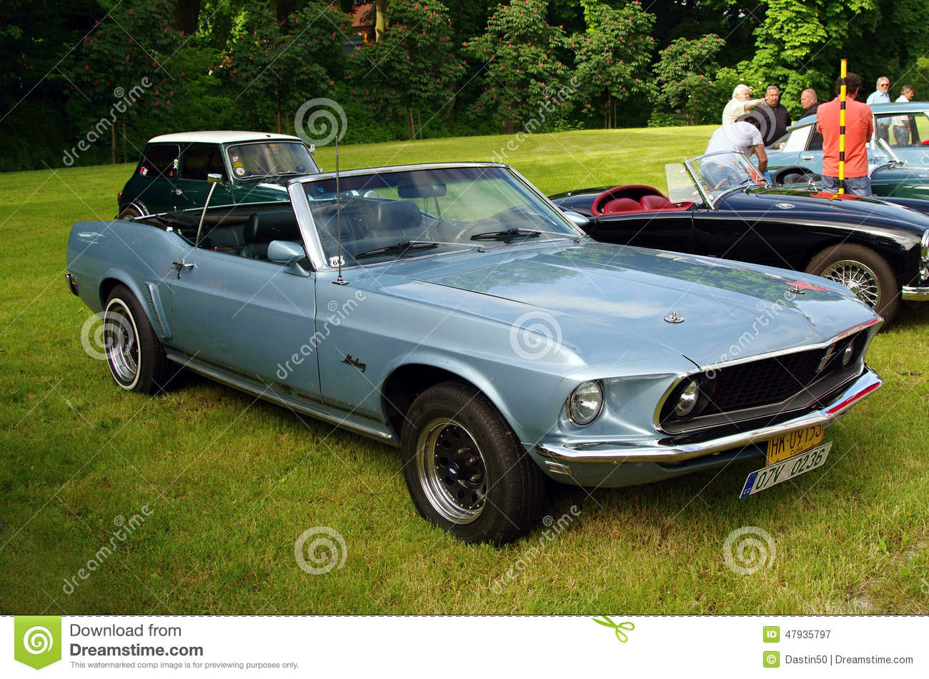 voiture ancienne ford mustang photographie ditorial. Black Bedroom Furniture Sets. Home Design Ideas