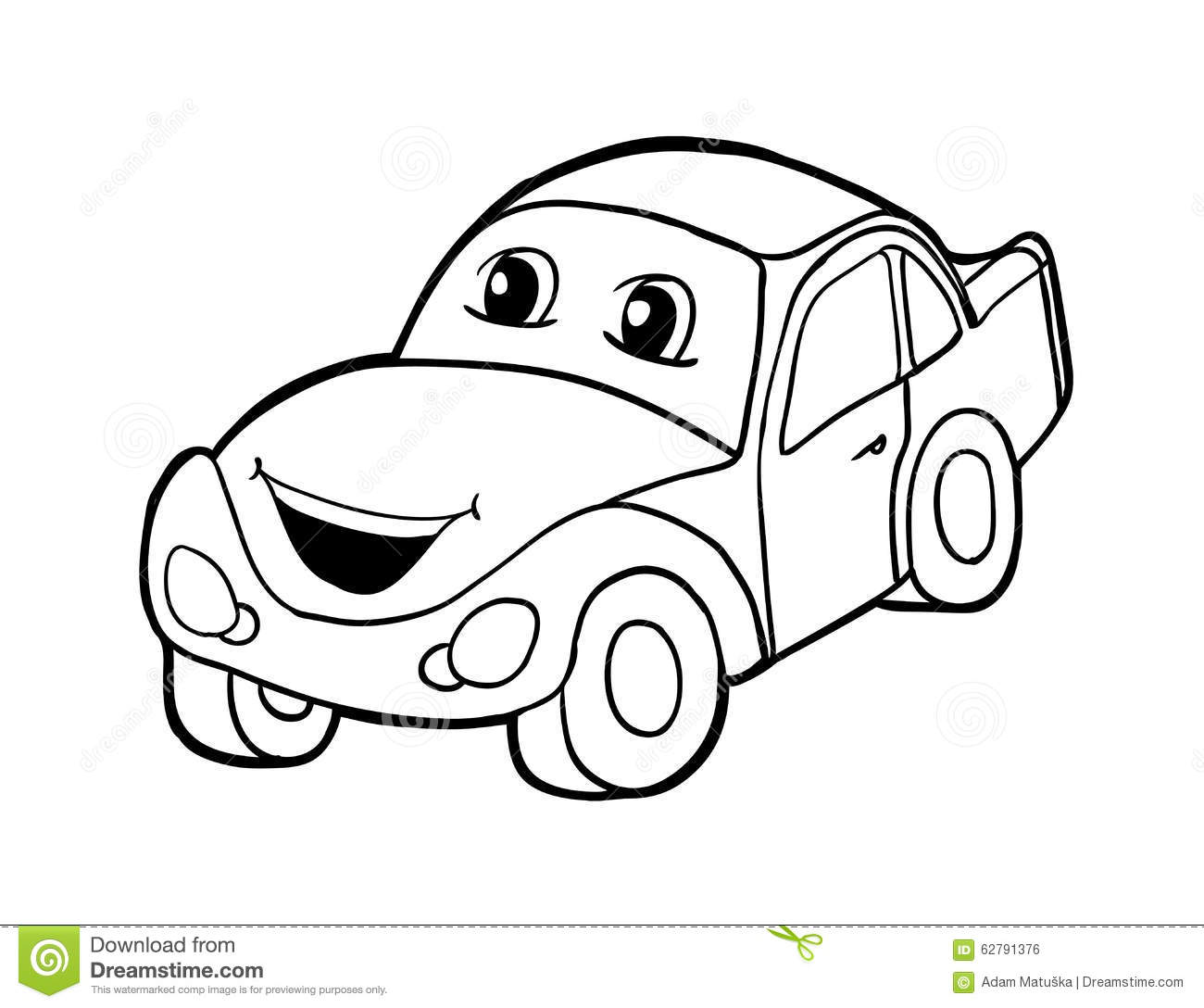 Illustration Stock Voiture Avec Le Sourire Image62791376 on car audio art