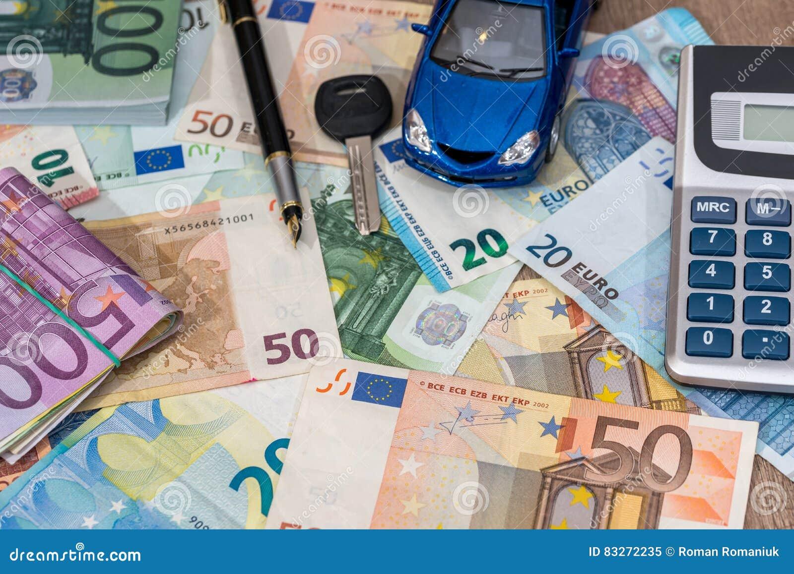 Jouet Billets Bleue De Voiture D'euro Avec BanqueCalculatrice wON80nkPX