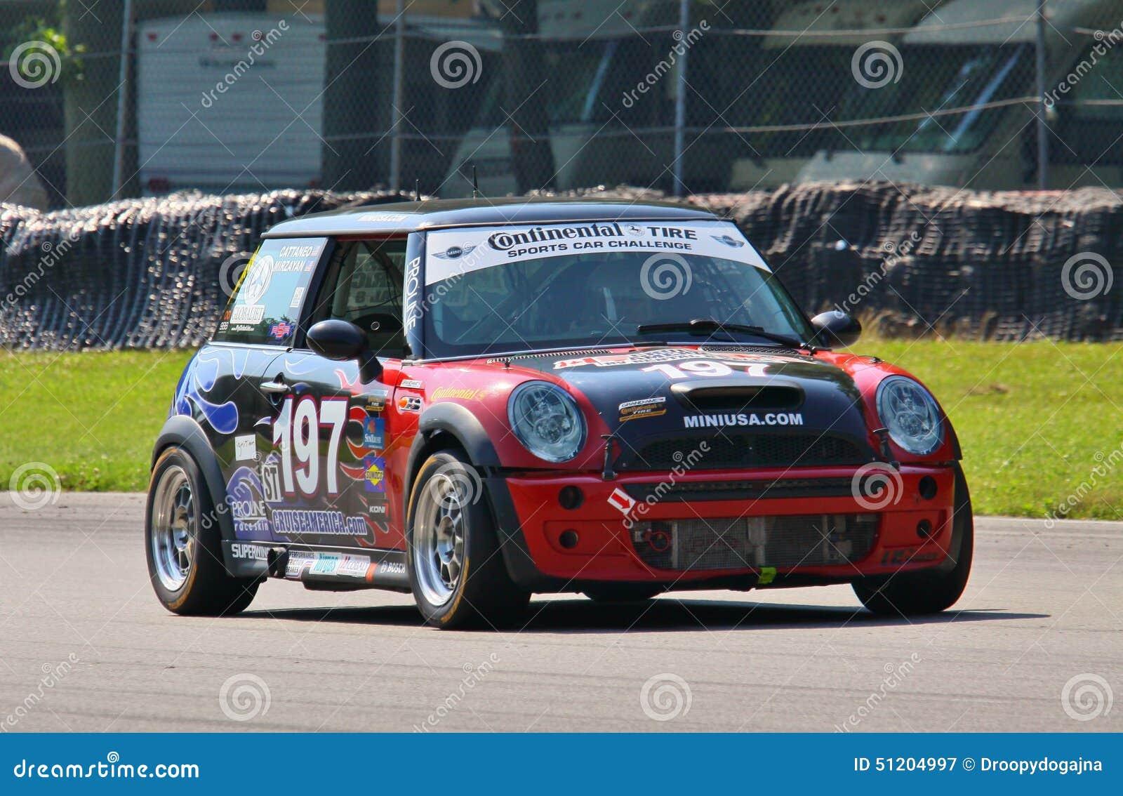 Voiture de course de Mini Cooper S