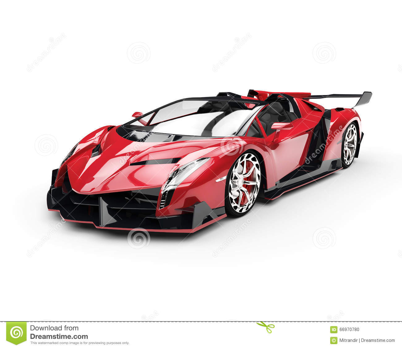 Voiture de course superbe rouge illustration stock illustration du coupe projectile 66970780 - Voiture de course image ...