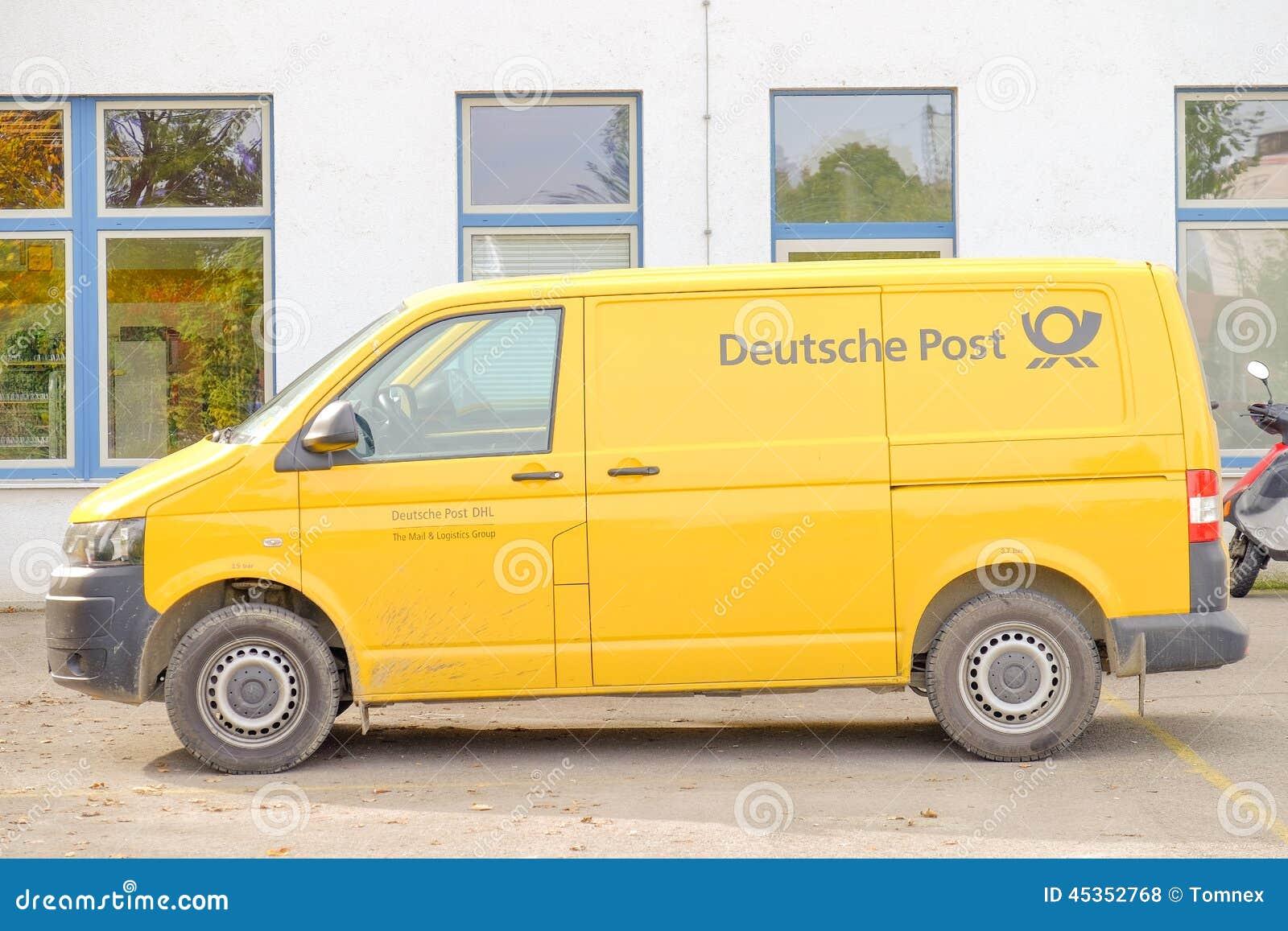 Voiture de Deutsche Post