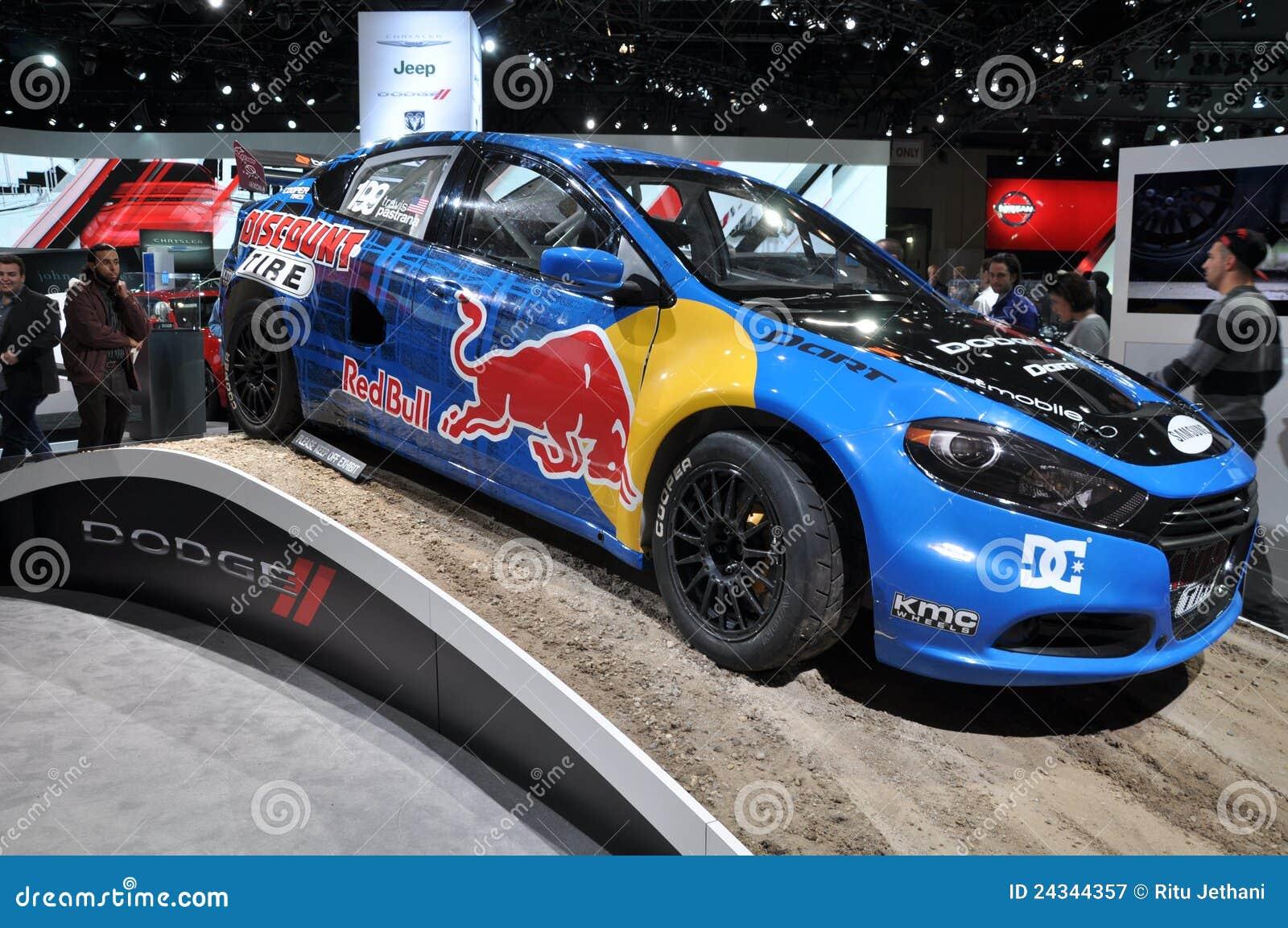 voiture de dodge red bull photographie ditorial image du sports 24344357. Black Bedroom Furniture Sets. Home Design Ideas