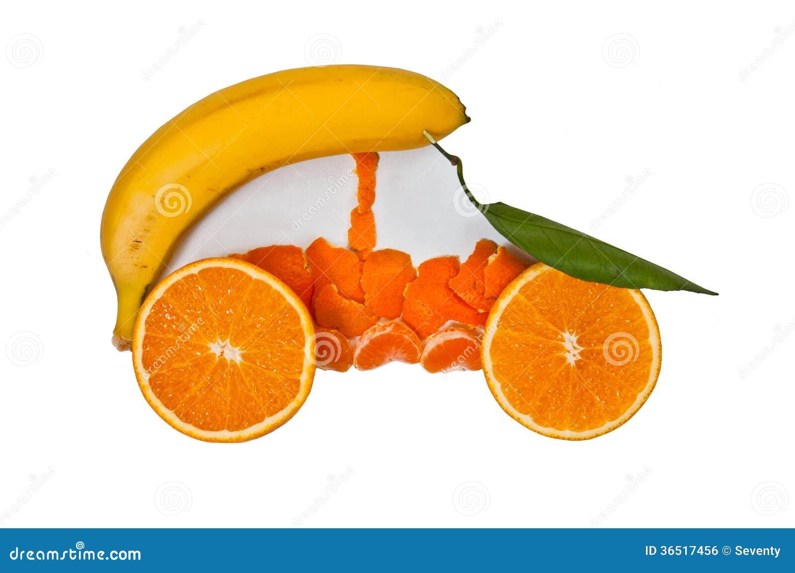 Voiture de fruit