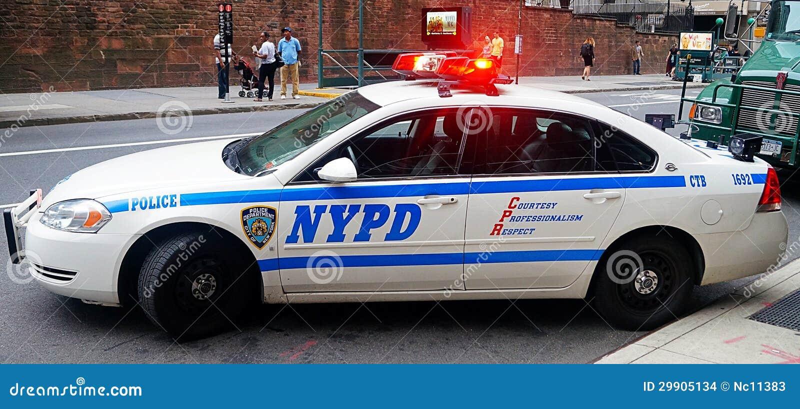 voiture de patrouille de nypd image stock ditorial image du urgence police 29905134. Black Bedroom Furniture Sets. Home Design Ideas