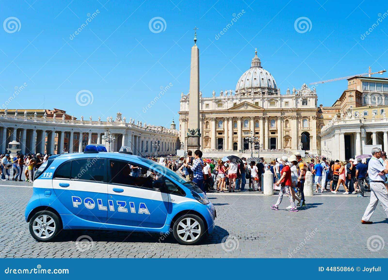 voiture de police de vatican photo ditorial image 44850866. Black Bedroom Furniture Sets. Home Design Ideas