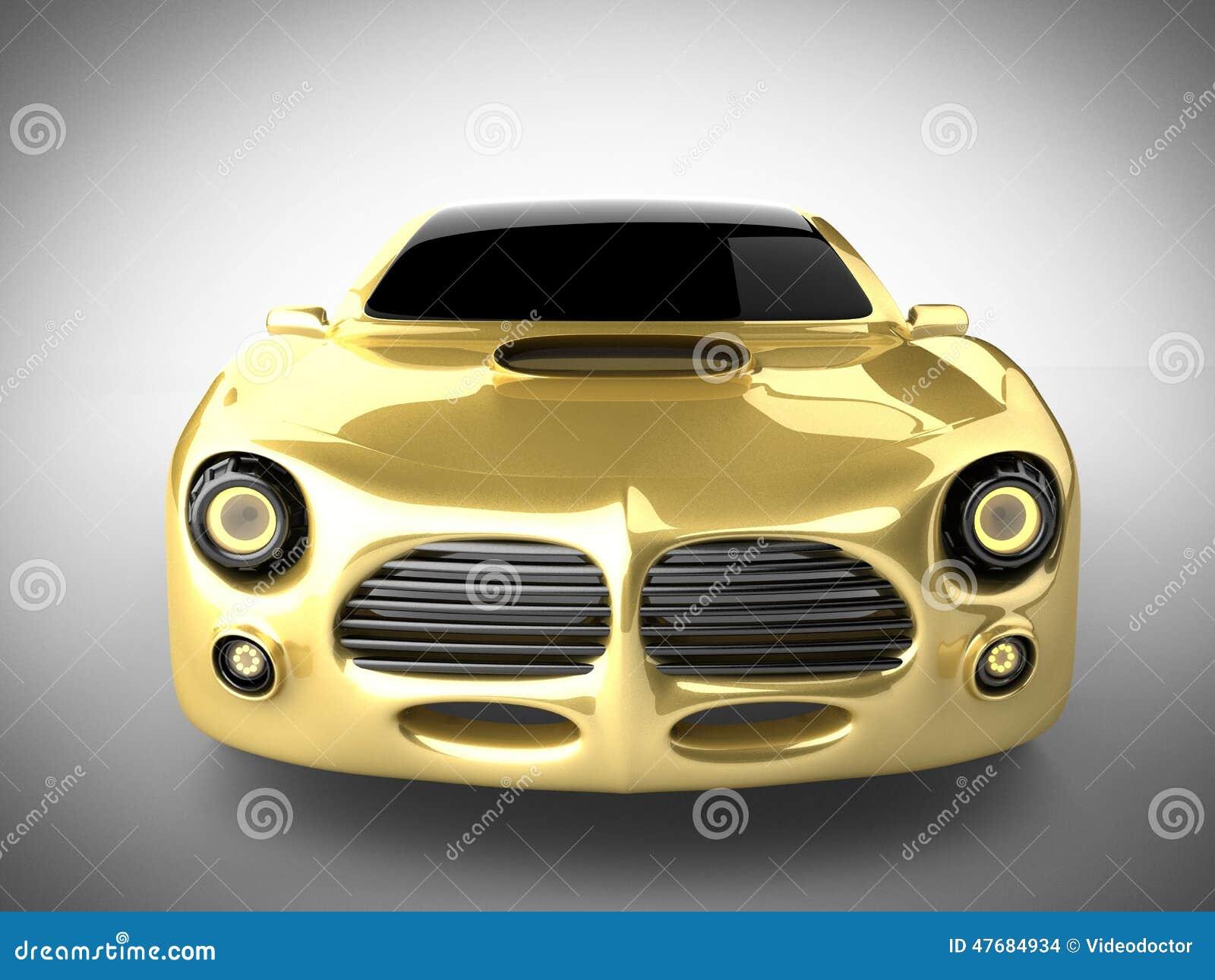 voiture de sport brandless de luxe sur le fond blanc illustration stock image 47684934. Black Bedroom Furniture Sets. Home Design Ideas