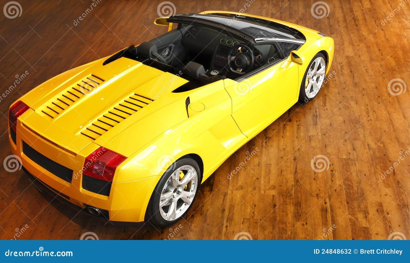 Voiture de sport de Lamborghini