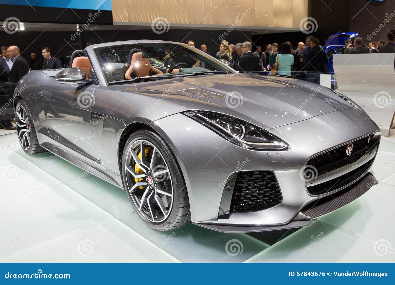 voiture 2017 de type f de convertible de jaguar svr photo ditorial image du distributeur. Black Bedroom Furniture Sets. Home Design Ideas