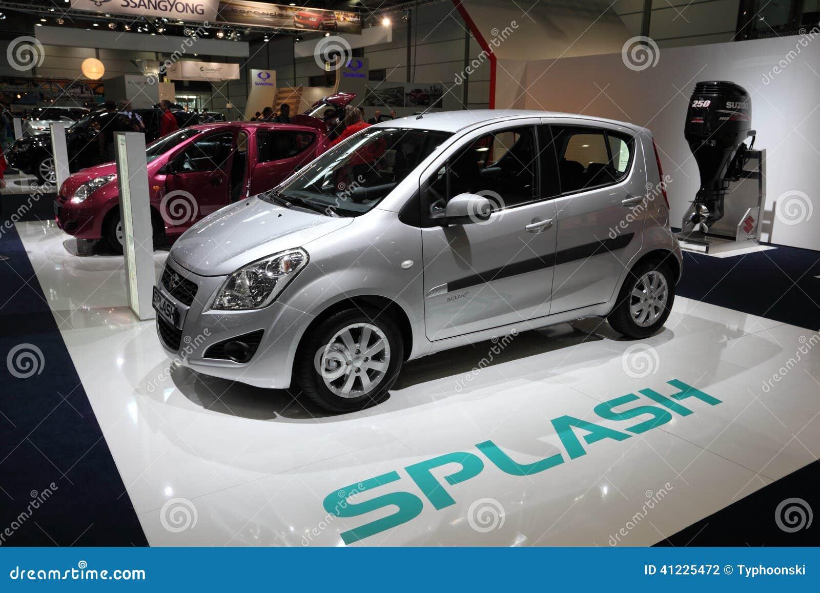 voiture de ville de suzuki splash photographie ditorial image 41225472. Black Bedroom Furniture Sets. Home Design Ideas