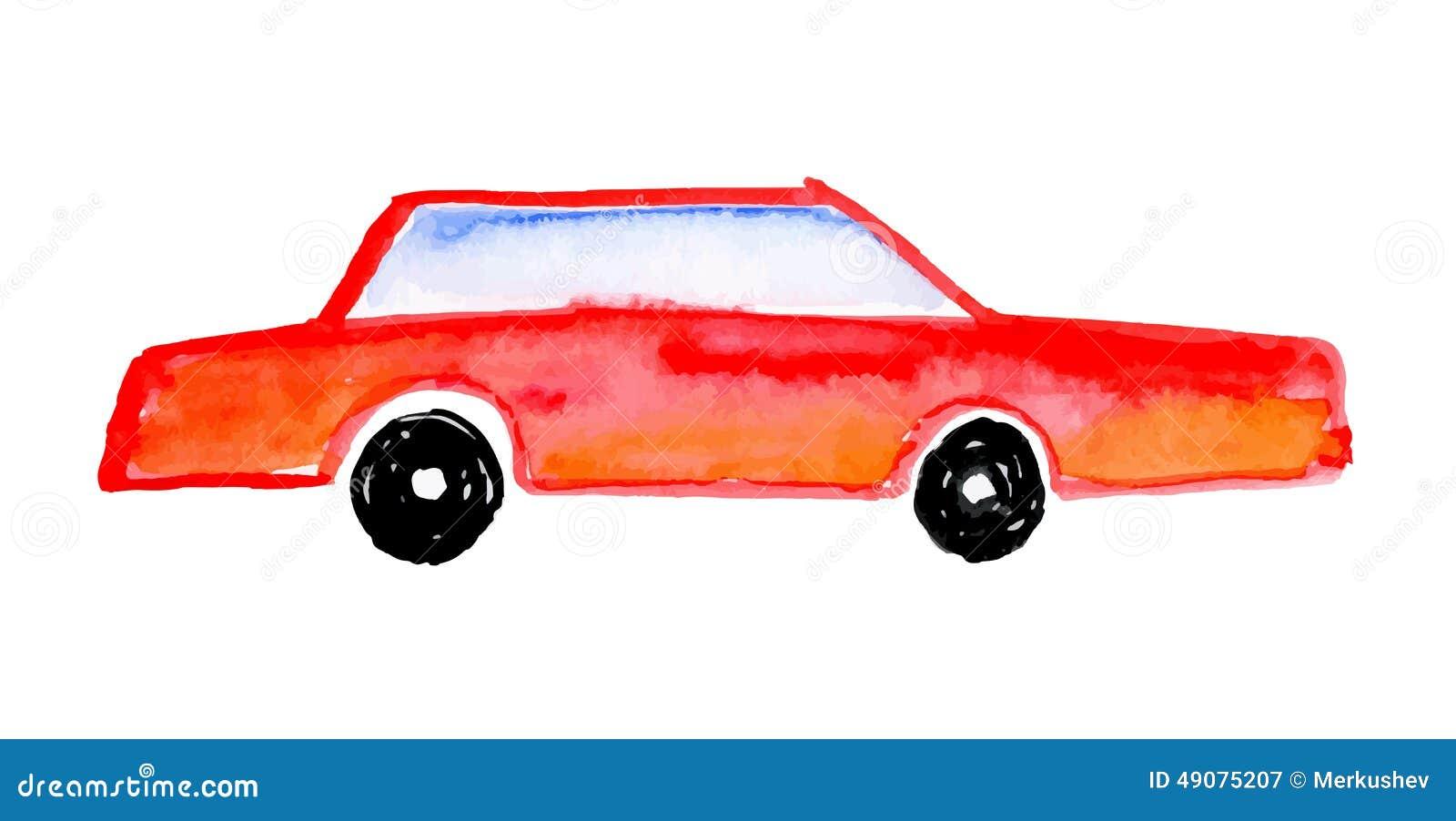 2017 - [Volkswagen] Jetta VII  Voiture-du-dessin-de-l-enfant-illustration-de-vecteur-49075207