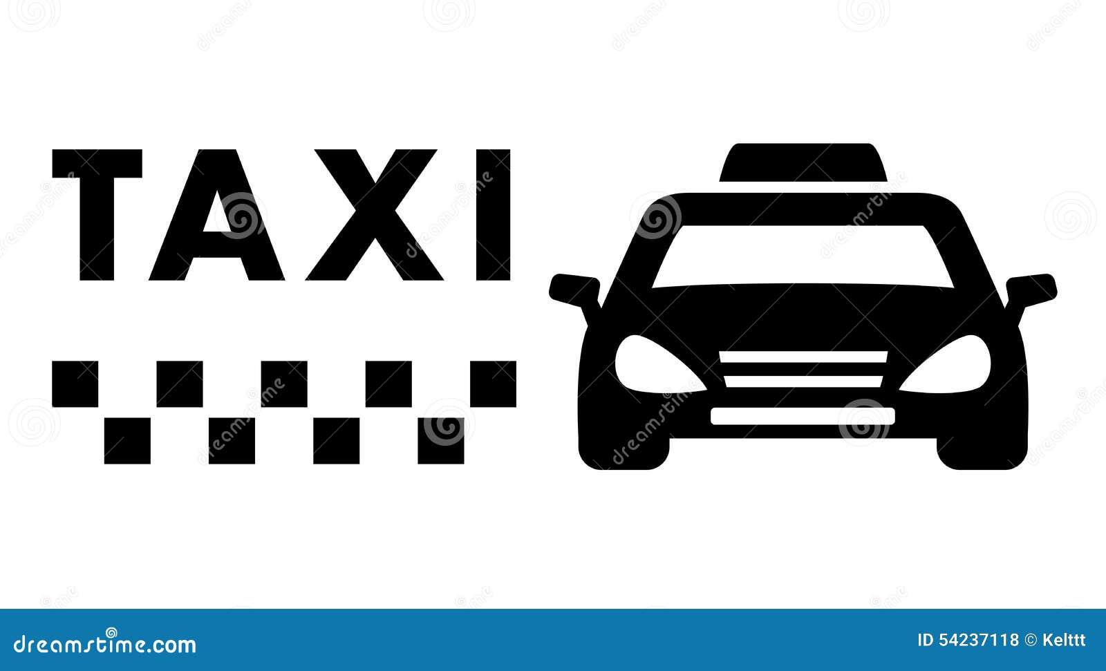 voiture noire de taxi sur le fond blanc illustration stock image 54237118. Black Bedroom Furniture Sets. Home Design Ideas
