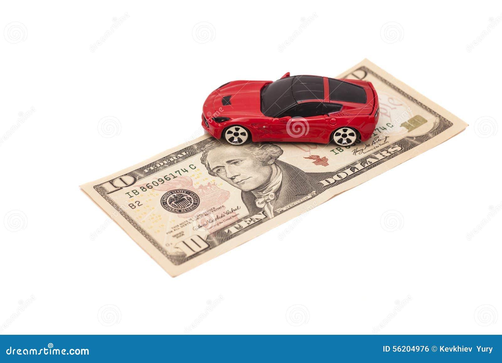 billet de banque voiture