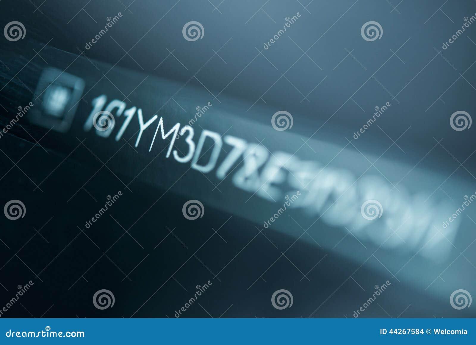 voiture vin number photo stock image du bleu tre s quentiel 44267584. Black Bedroom Furniture Sets. Home Design Ideas