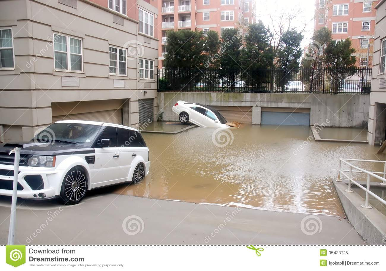 Voitures d inondation