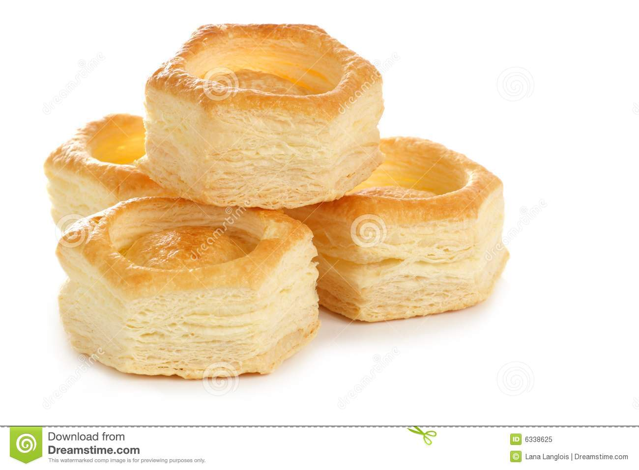 vol au vent pastry shell royalty free stock photo image. Black Bedroom Furniture Sets. Home Design Ideas