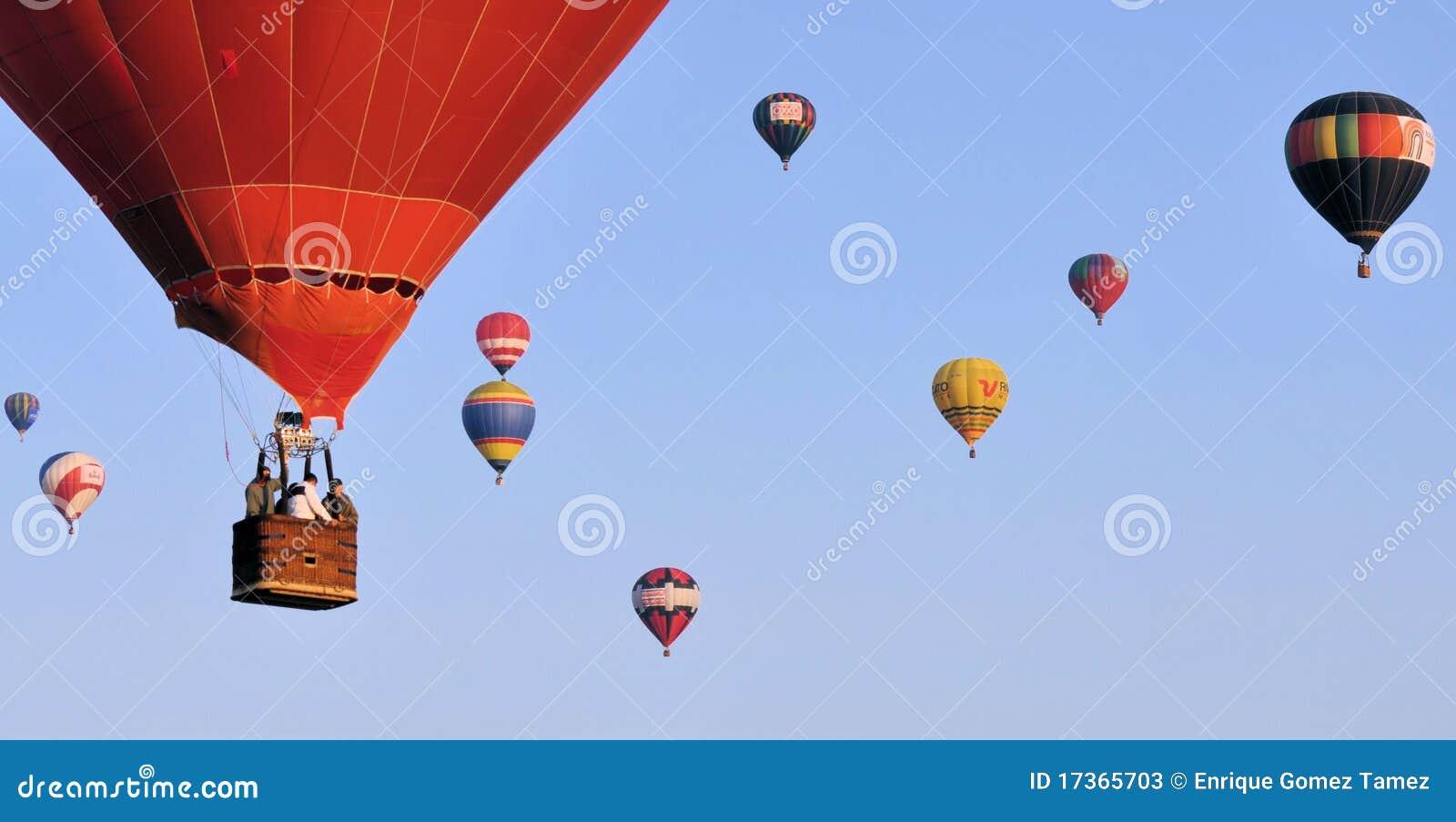 Volando su un aerostato