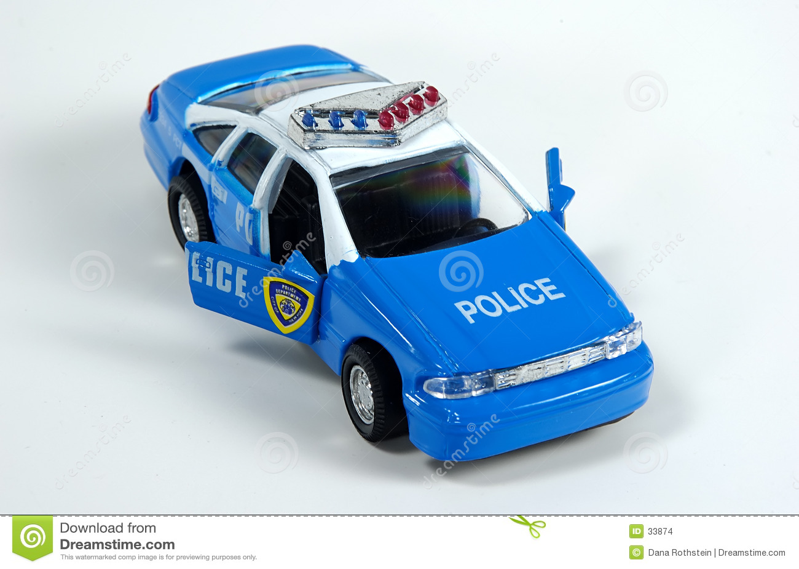 Volante della polizia del giocattolo