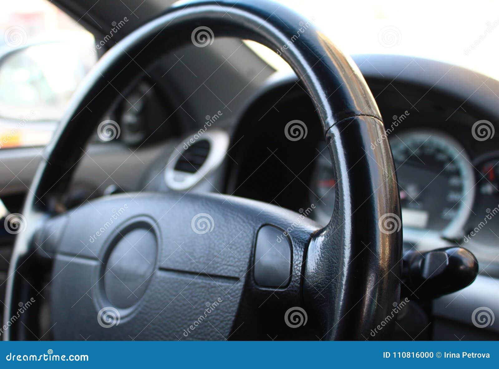 Volante no carro