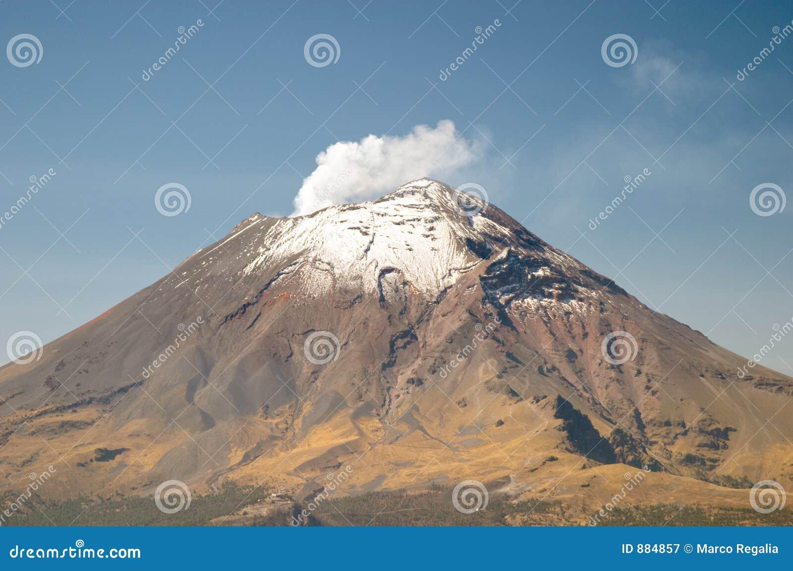 Volcán de Popocatepetl