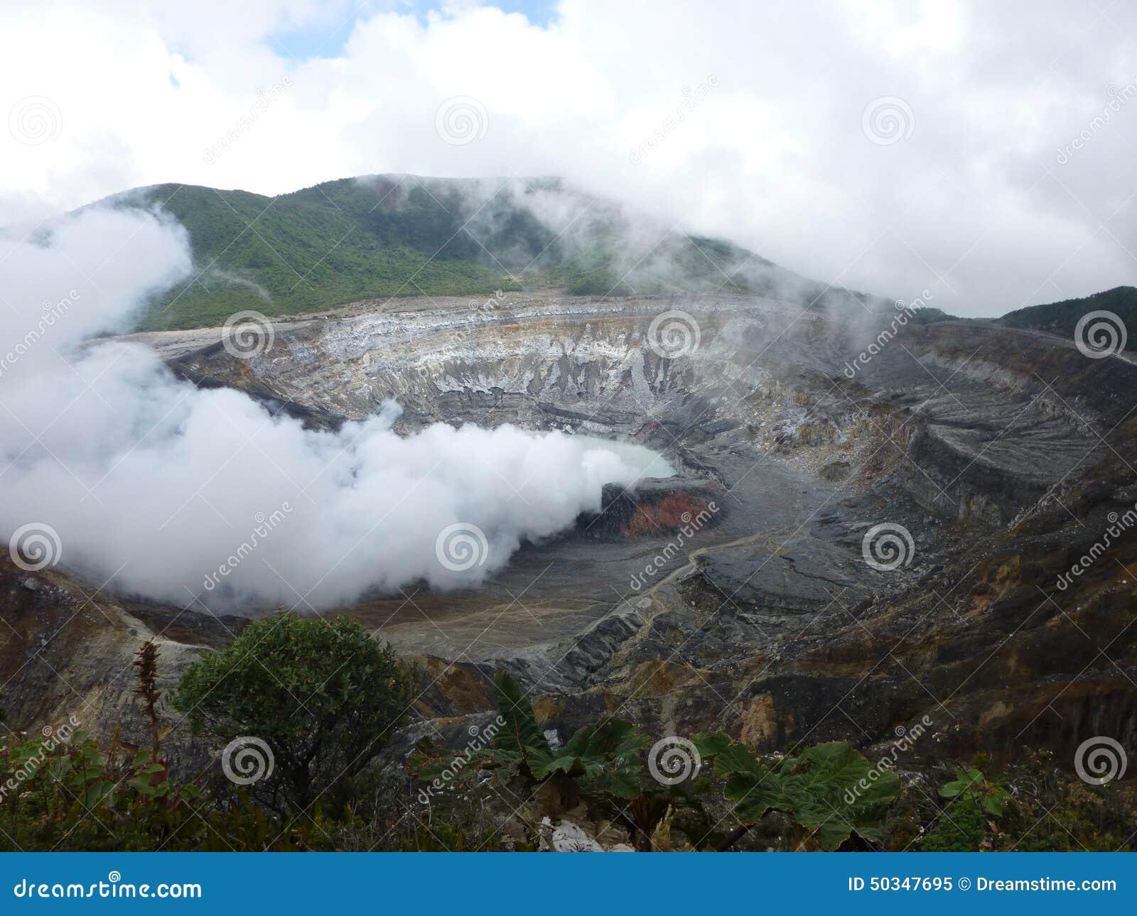 Volcà ¡ ν Poas, SAN José de Κόστα Ρίκα