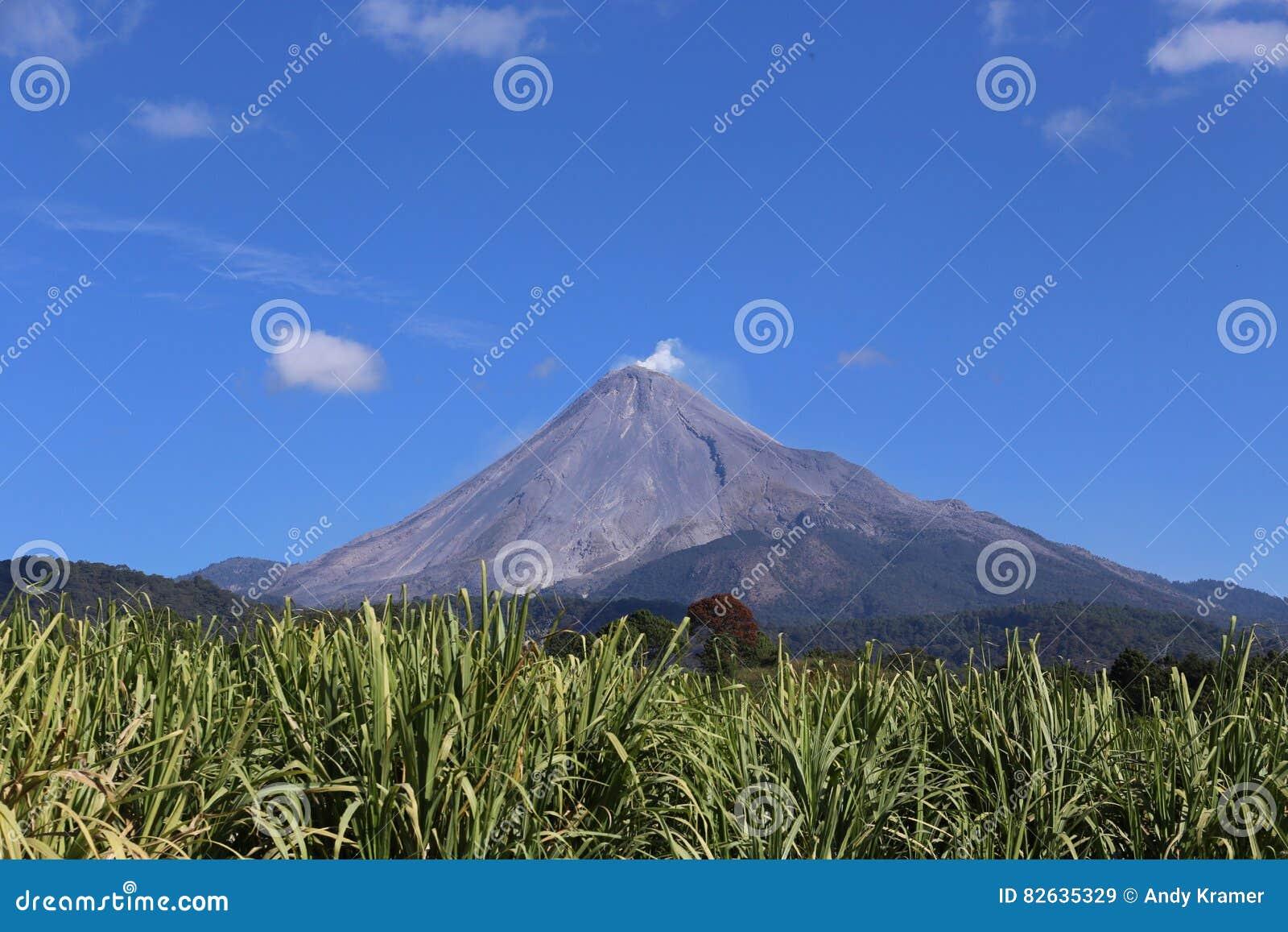 Volcan de Colima, Meksyk