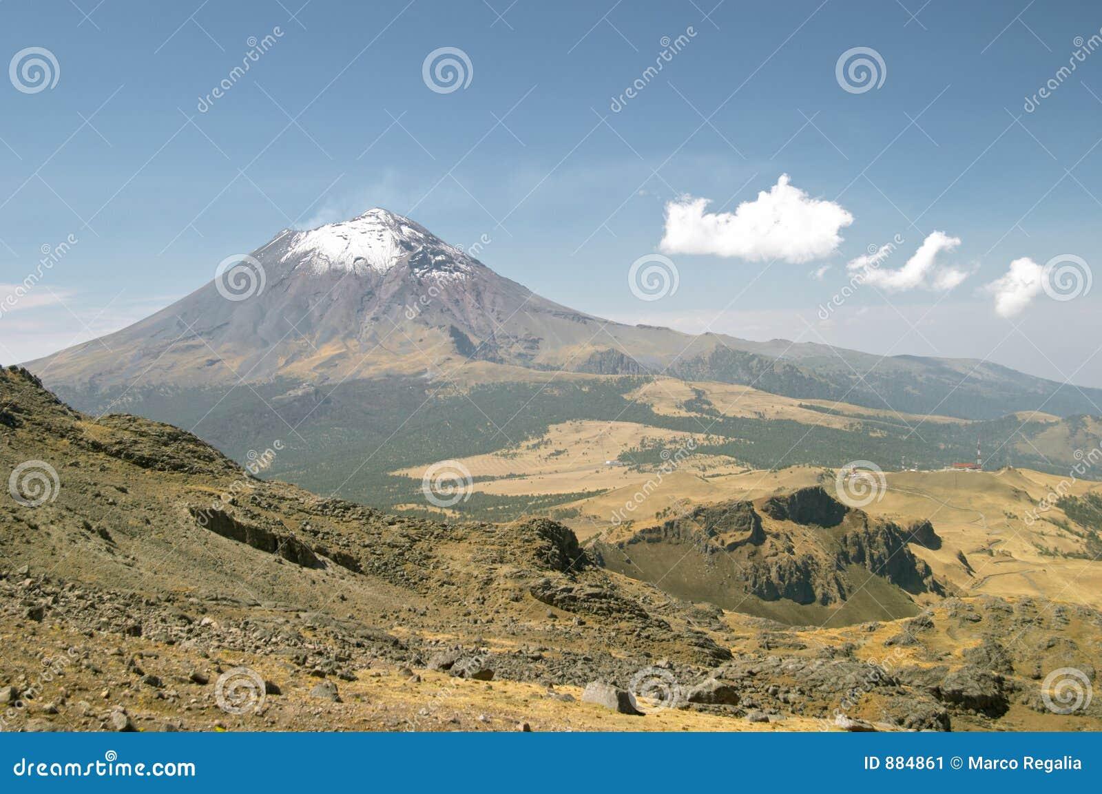 Volcan de Popocatepetl
