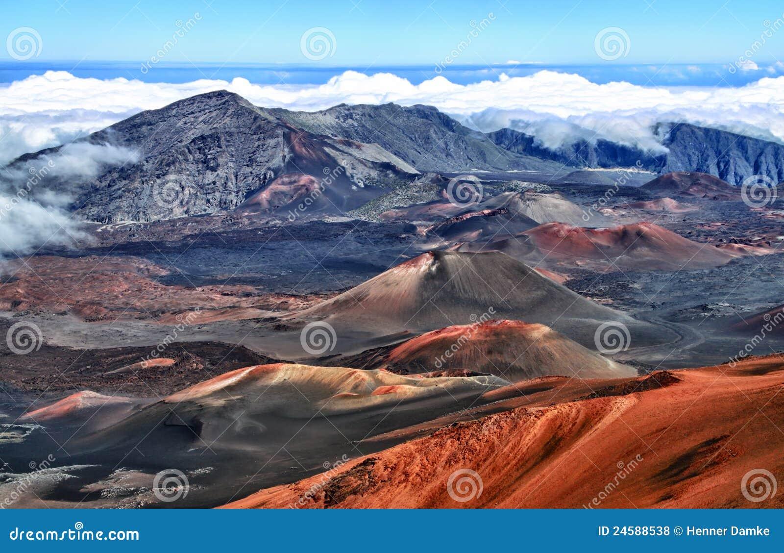 Volcan Haleakala, Hawaï (Maui)