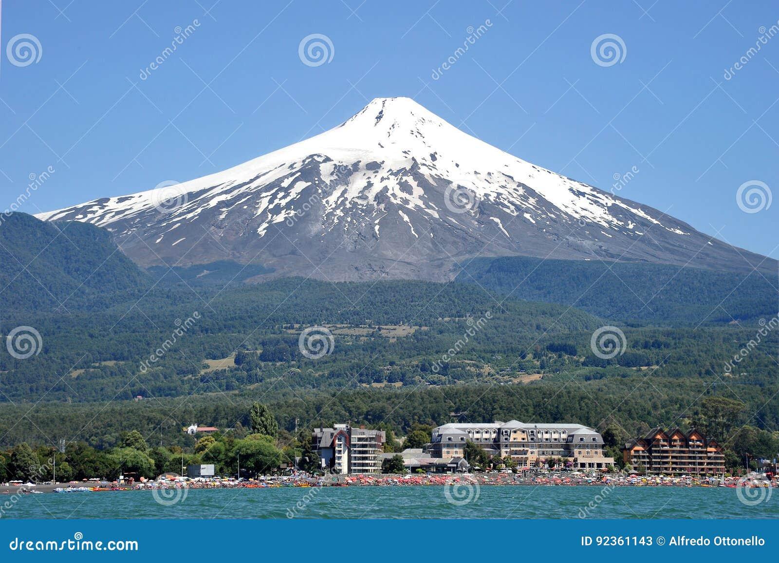 Volcan Villarrica, Чили