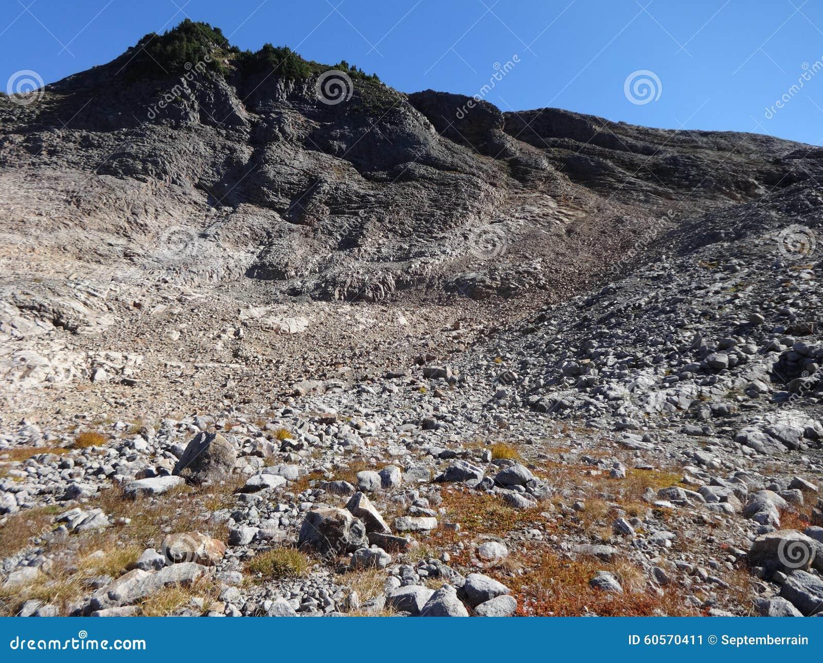 Volcanic Rock Formation, Washington Stock Image - Image of