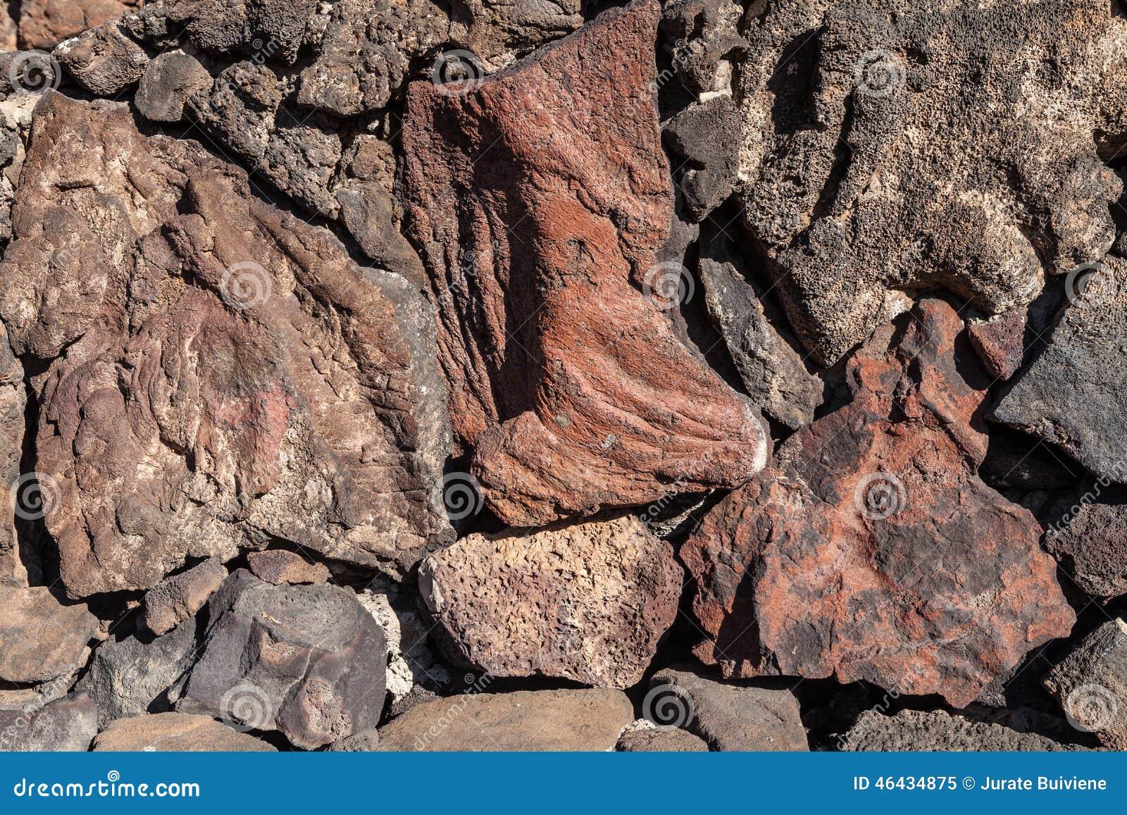 Volcanic Stone Stock Photo - Image: 46434875