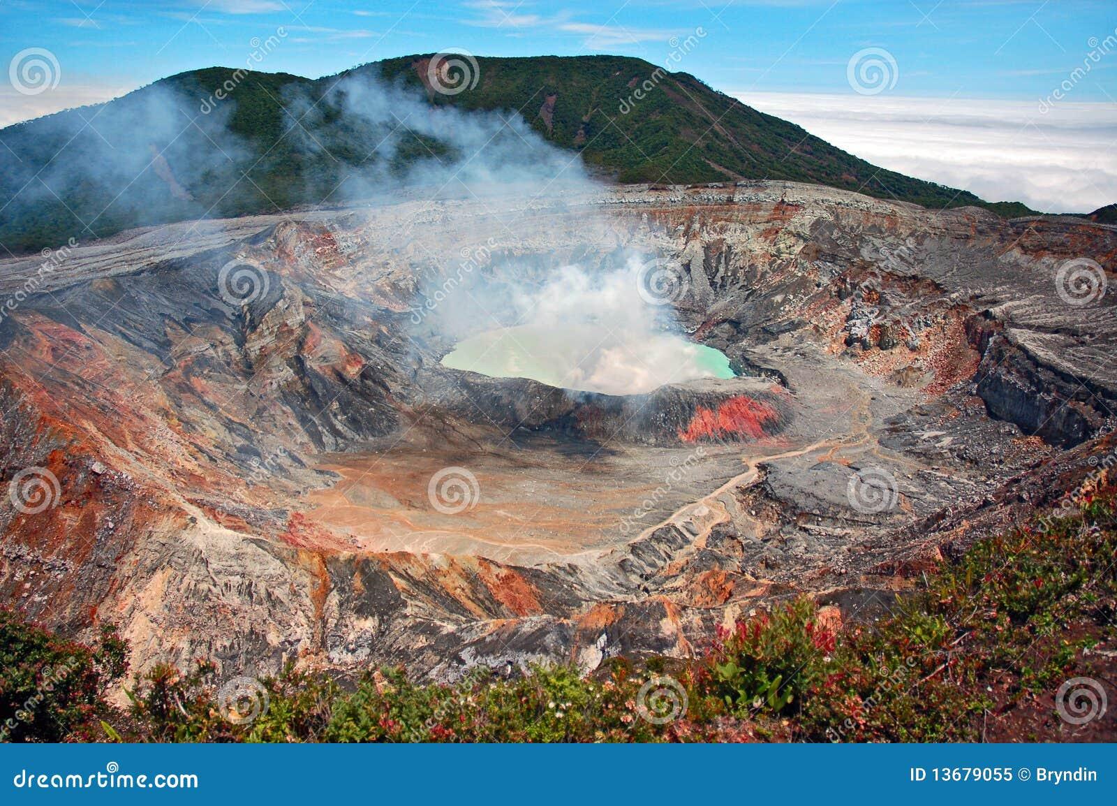 Volcano Royalty Free Stock Photo - Image: 13679055