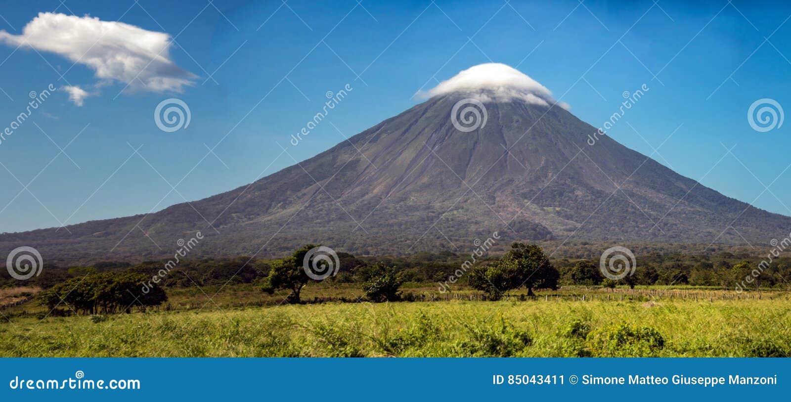 Volcano Concepcion op Ometepe-Eiland in meer Nicaragua