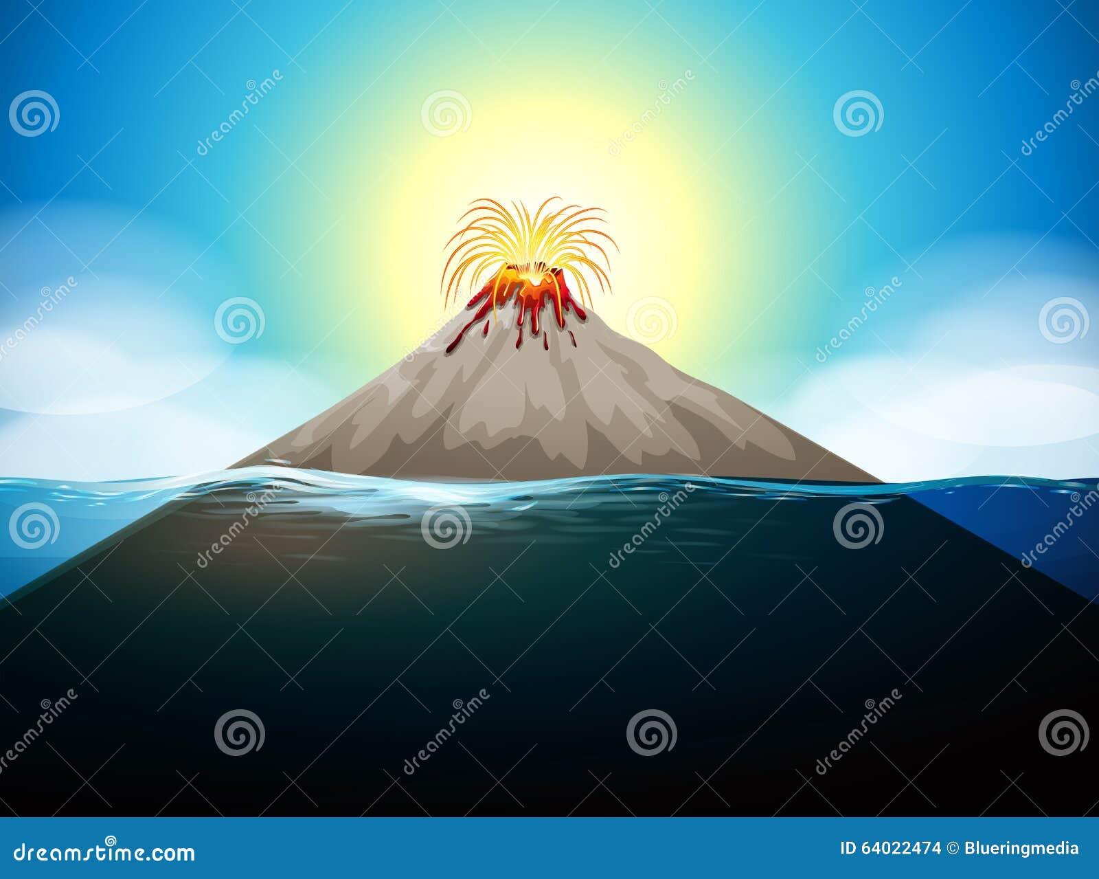 Volcano Eruption In Th...