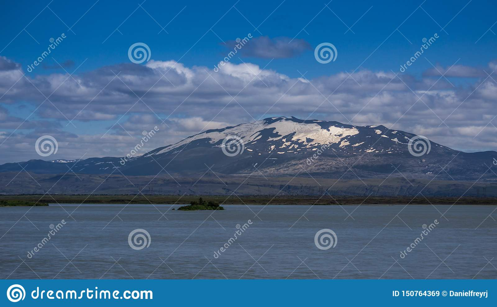 The infamous Hekla volcano, South Iceland