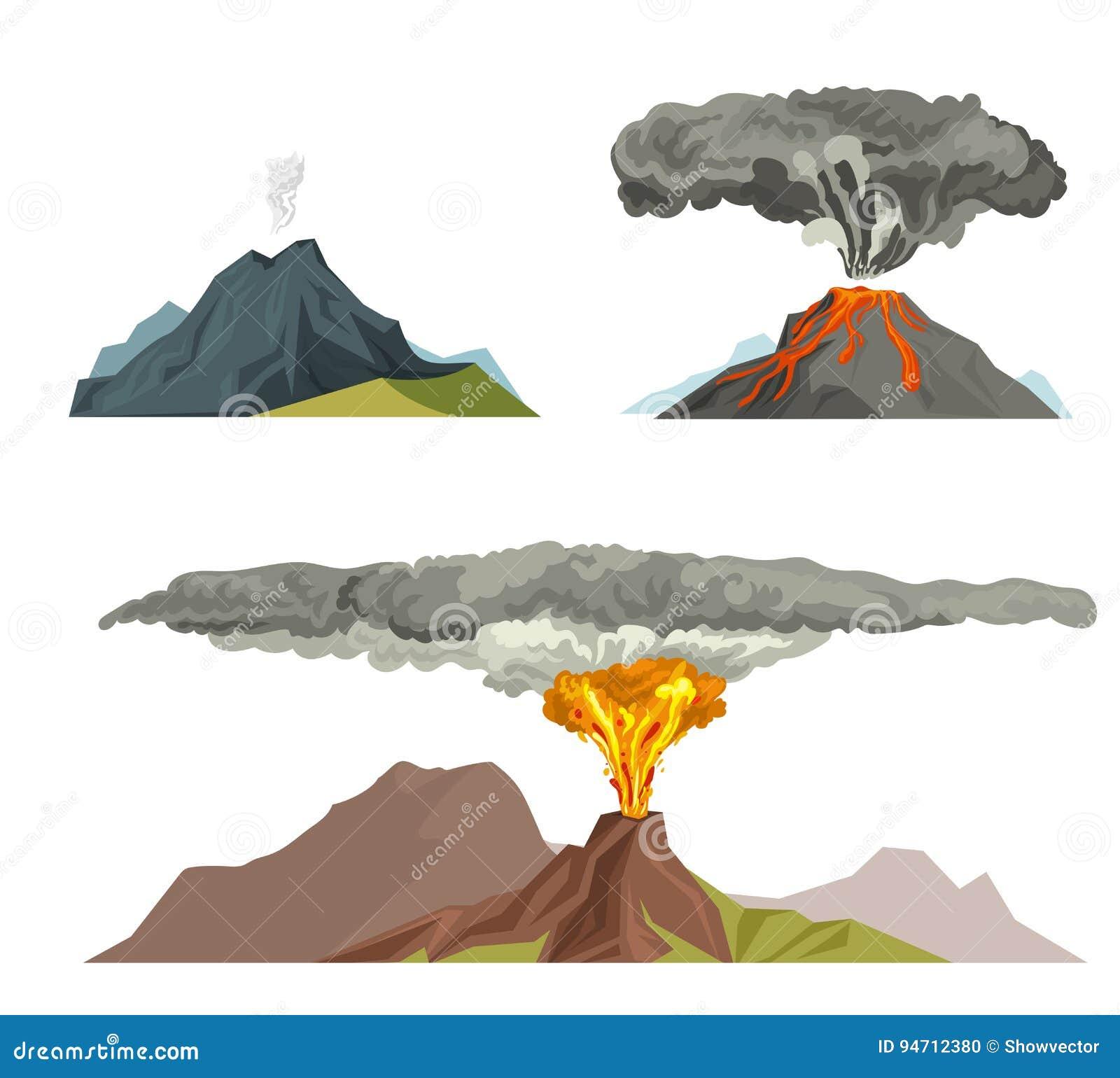 Volcano Magma Nature B...