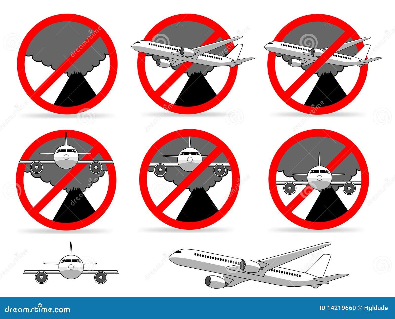 Volcano no fly zone