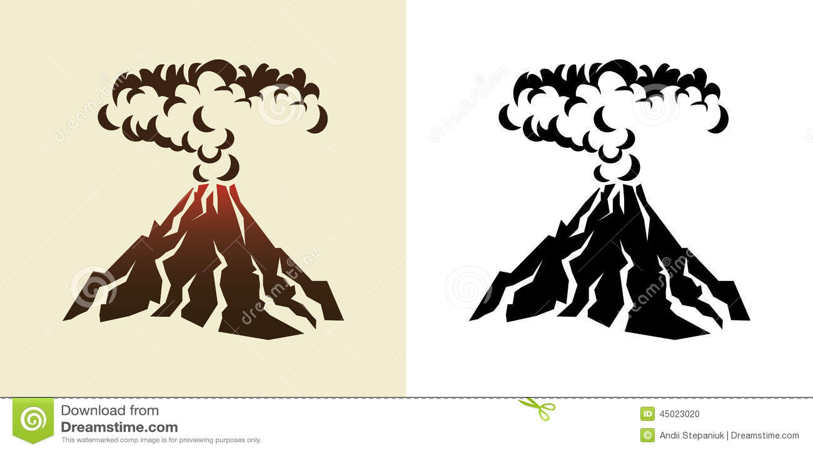 Volcano Symbol Volcano