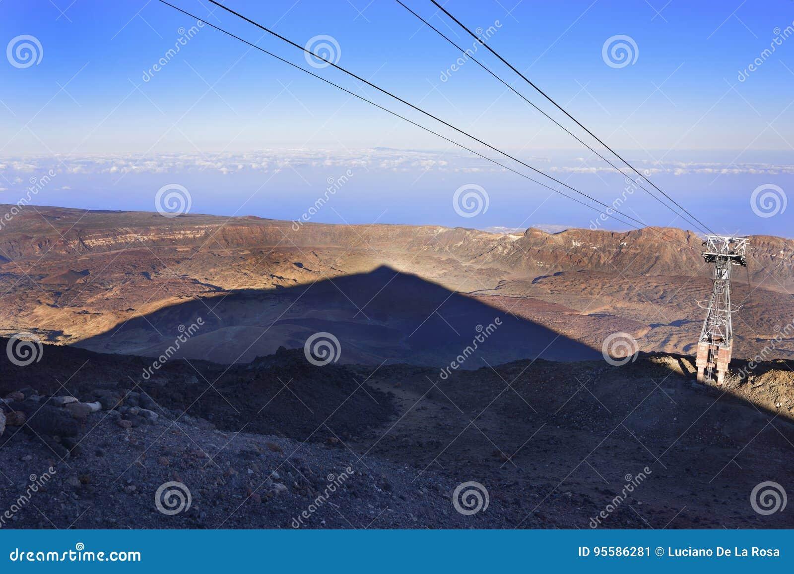 Volcano Teide, Tenerife 3718 metri Patrimonio naturale di UNESC