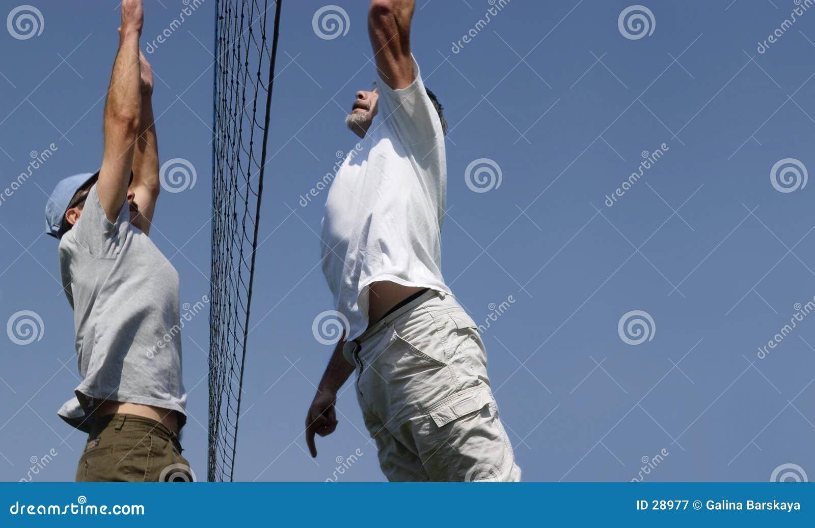 Download Voleibol de la playa imagen de archivo. Imagen de juego - 28977