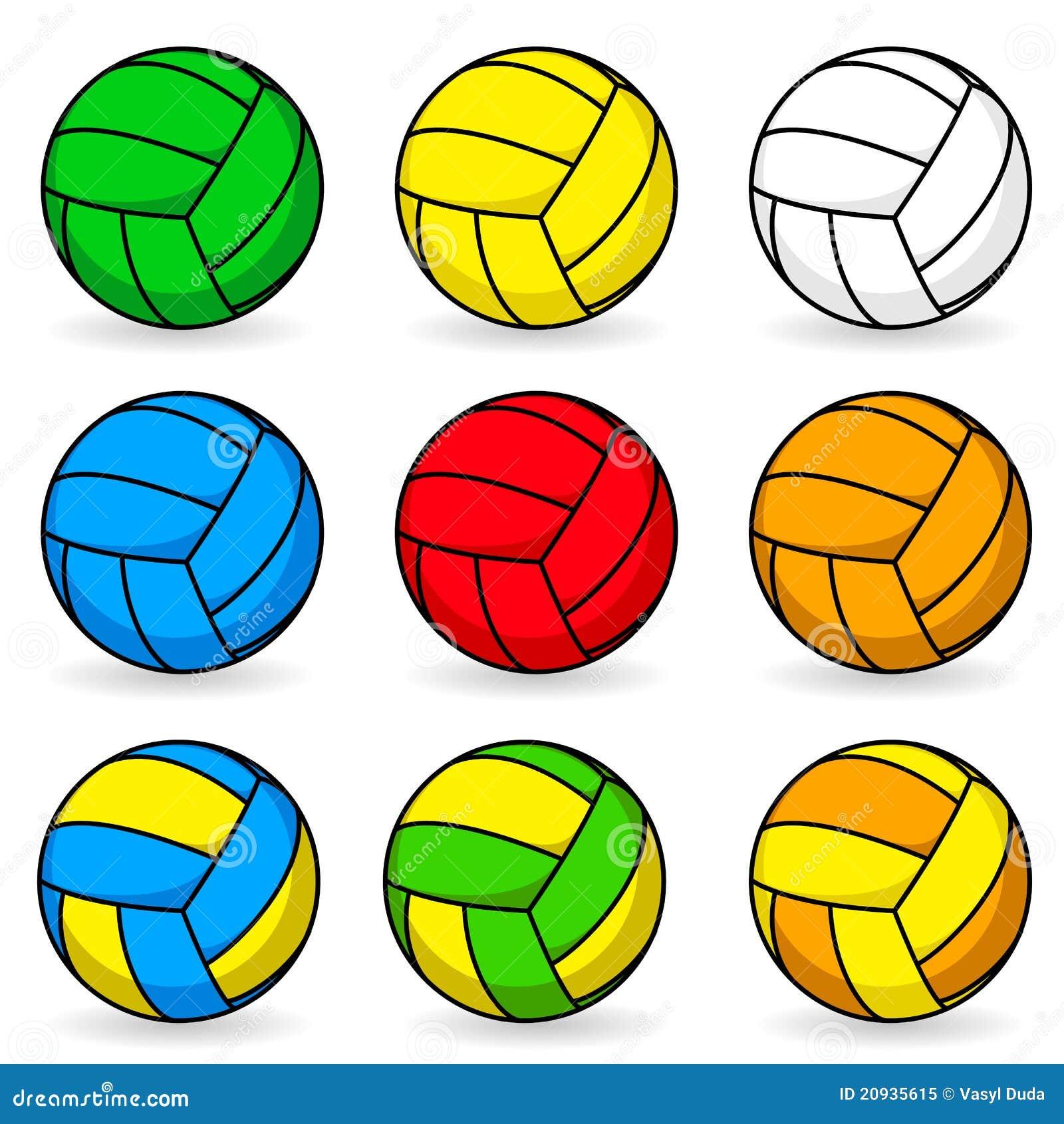 Voleibol dos desenhos animados