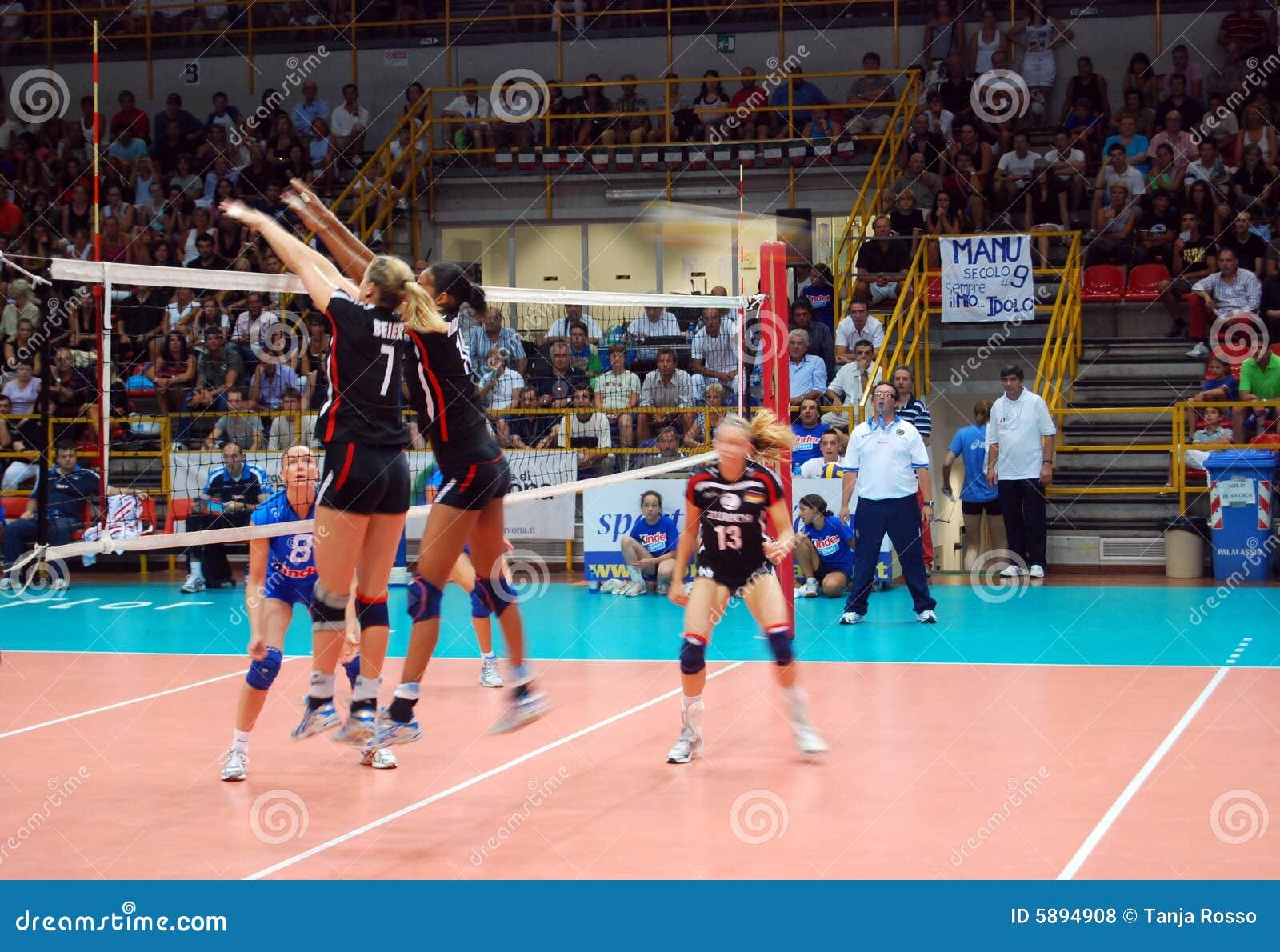 Voleibol: Test match de Preolympic