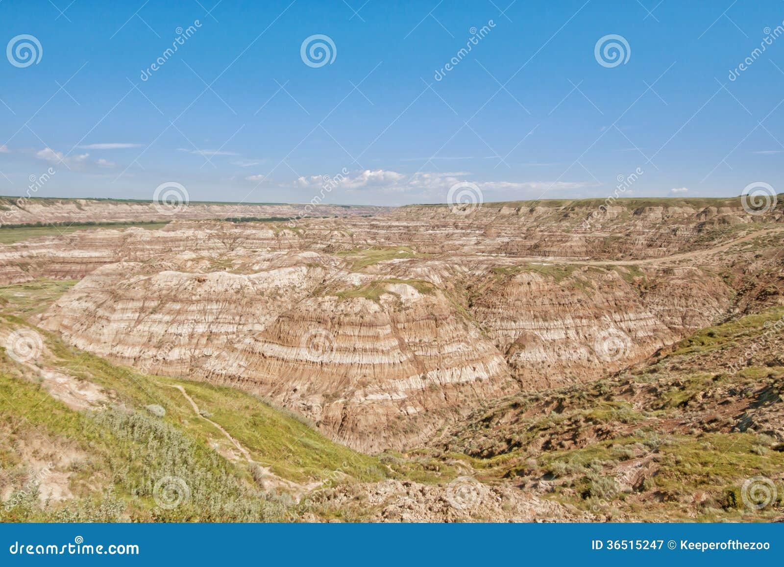 Voleur Canyon Landscape de cheval