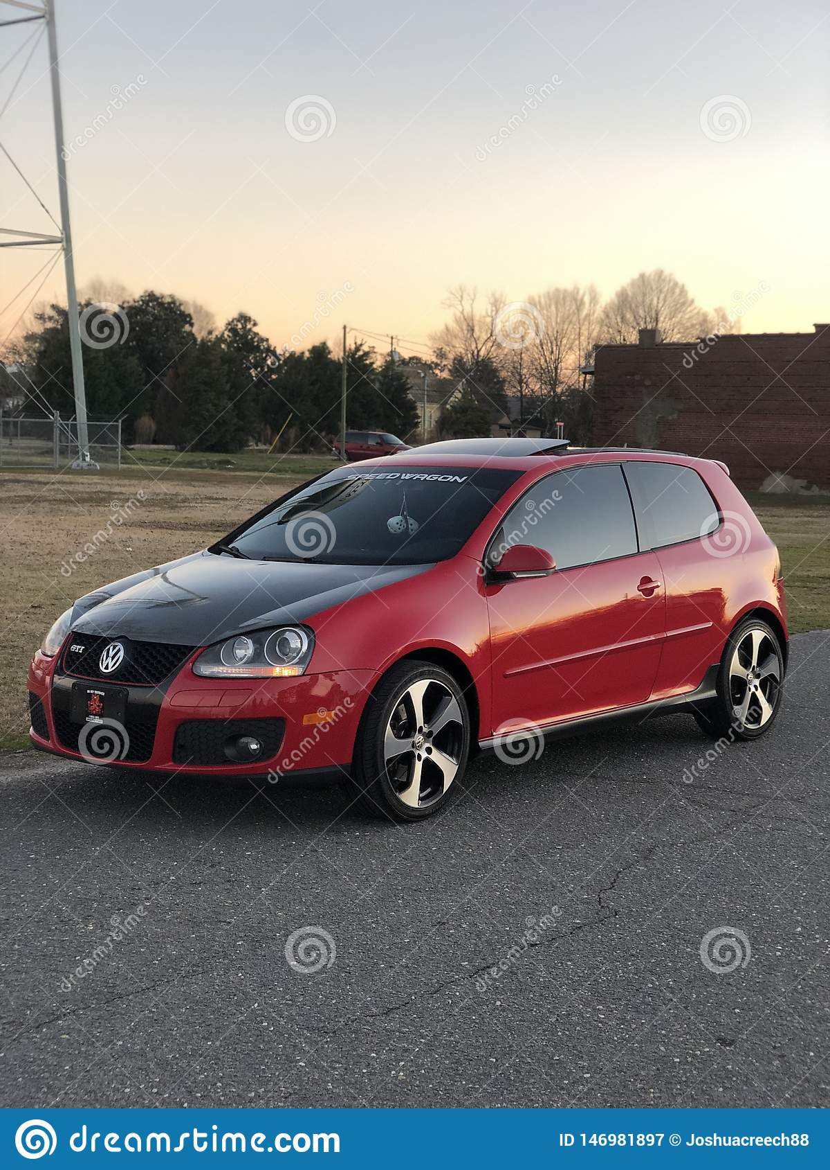 Volkeswagen GTI bil