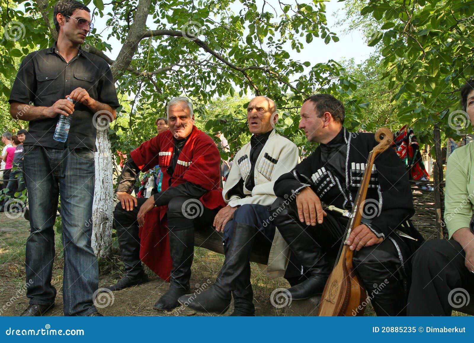 Volkskunst-Gen-Festival in Georgia
