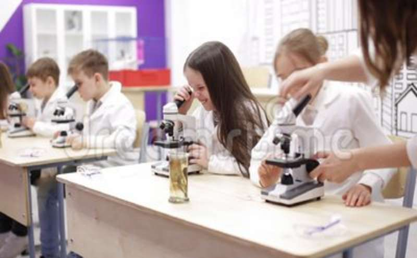 National geographic kinder mikroskop binokular x