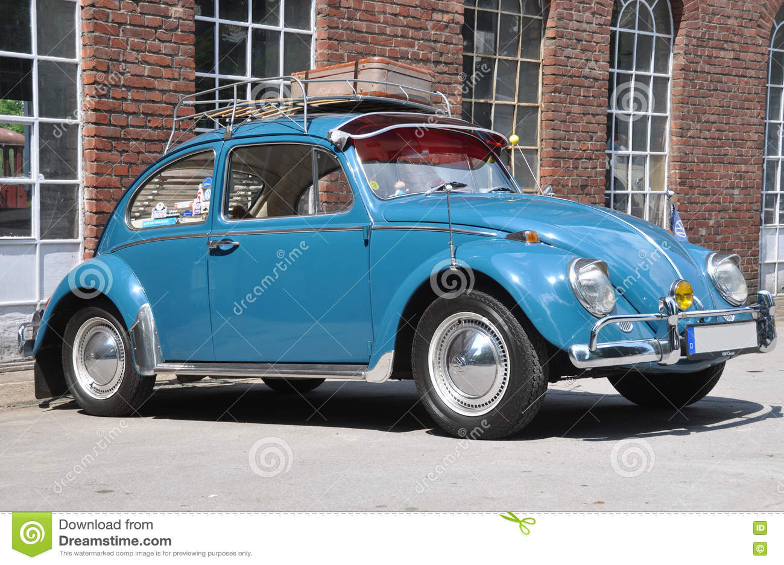 Volkswagen Beetle Adiantado Fotografia Editorial Imagem De Portador Cedo 72536287